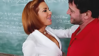 Preston is substituting a class for Veronica Avluv. The problem is...