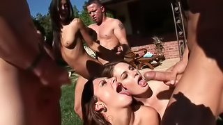 Wet Pool Party Orgy